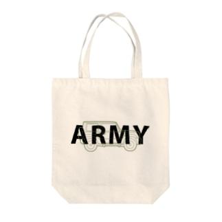 U.S.ARMYなジムニー Tote Bag