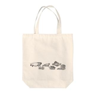古代生物たち ライン Tote Bag