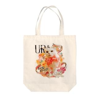 うらちゃん(トートバッグ) Tote bags