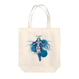 リップルちゃん Tote bags