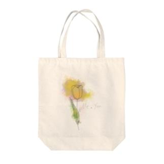 お花と貴方と私 Tote Bag