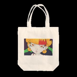 ぺろぺろ大魔人の女の子作品010 顏 Tote bags