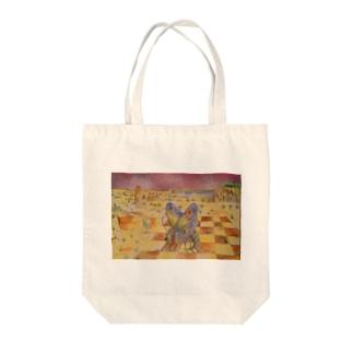 タム Tote bags