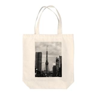 TOKYO TOWER Tote bags