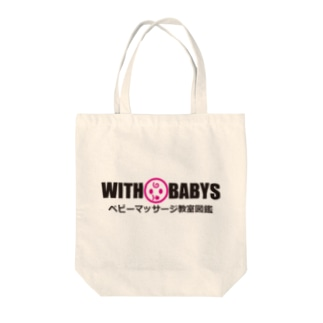 withbabyT-shirt Tote bags