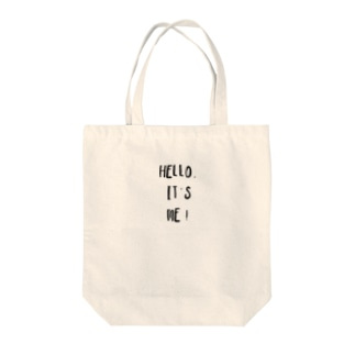 ❈『hello,it's me』tote bag❈ Tote bags