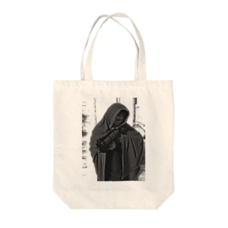 SpacePatrol_Assault Tote bags