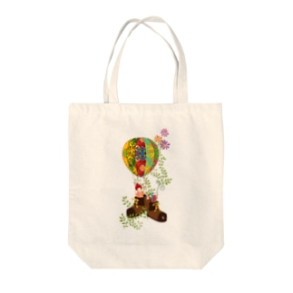気球に乗ろう Tote Bag