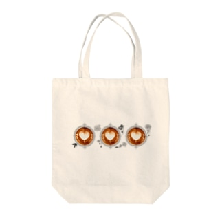 【Lady's sweet coffee】ラテアート メッセージハート / With accessories ~2杯目~ Tote Bag