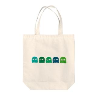 ベーシック煩悩ズ Tote bags