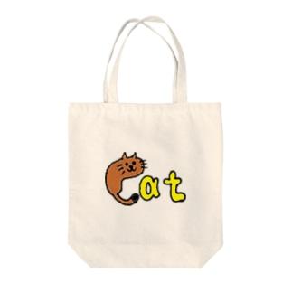 MOJIASOBI(Cat) Tote bags