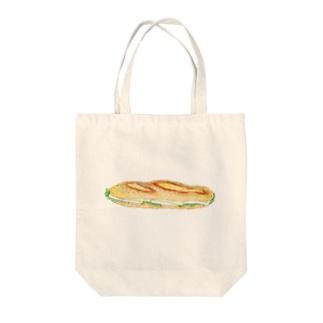 カマンベールサンド Tote bags