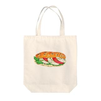 モッツァレラチーズサンド Tote bags