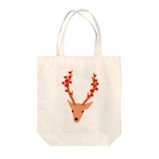 鹿つばき Tote bags
