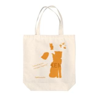 ネムちゃん シルエット Tote bags