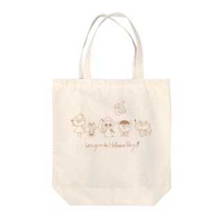 Let's go to the Halloween Party! Tote Bag