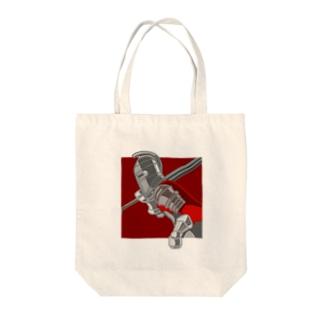 赤い騎士 トートバッグ