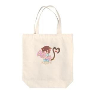 モモンガ(クッション持ち) Tote bags