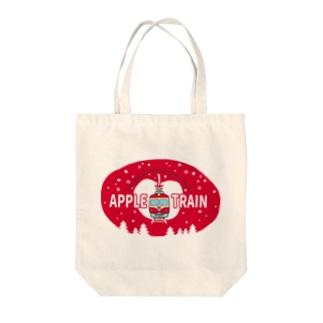 りんご電車(赤) Tote Bag