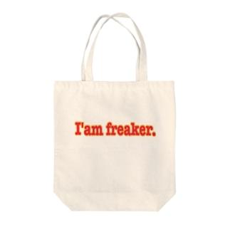 I'am freaker. Tote bags