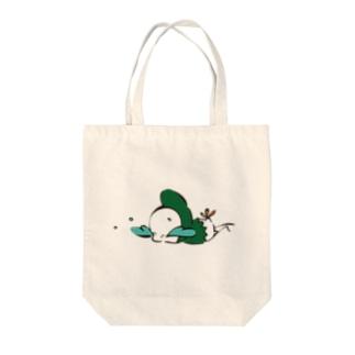 最強BABY Tote bags