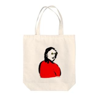 みかえり美人 Tote bags