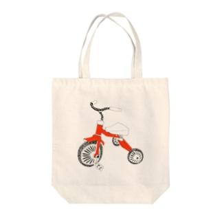 三輪車 Tote bags