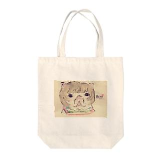 フレンチブルドッグの女の子 Tote bags
