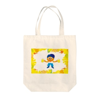 クレコちゃんの秋の祭り Tote bags