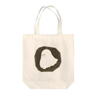 ふよふよ Tote bags