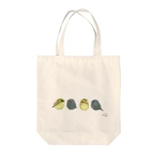 -AOJI&KUROJI No.1- Bird call Tote Bag