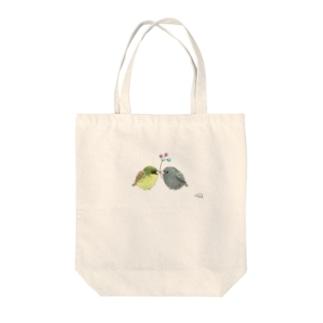 -AOJI&KUROJI No.2- Bird call Tote Bag