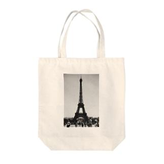 エッフェル塔 Tote bags