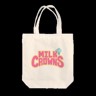 MILK CROWNSのMILK CROWNS LOGO Tote bags