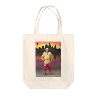 カンボジア2-3 Tote bags