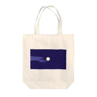 Full Moon Tote bags