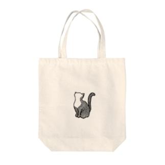 鱗猫 トートバッグ