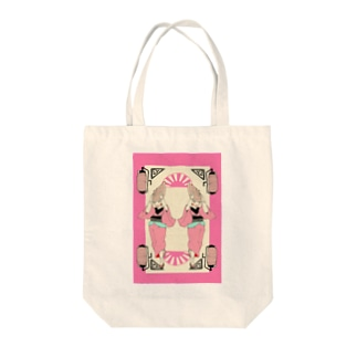 【和風好きさん必見!】阿波おどりのお嬢さん Tote bags