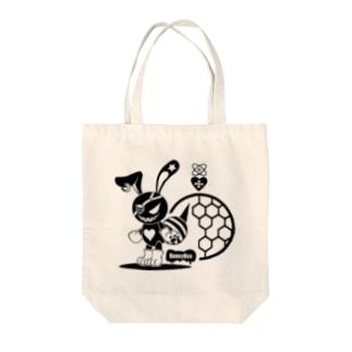 バニービー・アイパッチ Tote bags