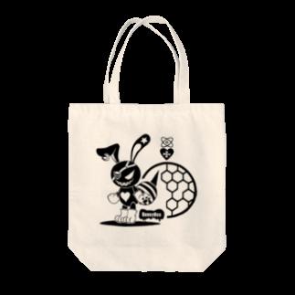 ESCHATOLOGYのバニービー・アイパッチ Tote bags