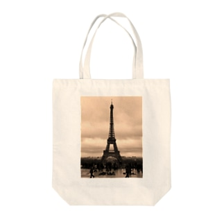 Hello Paris  Tote bags