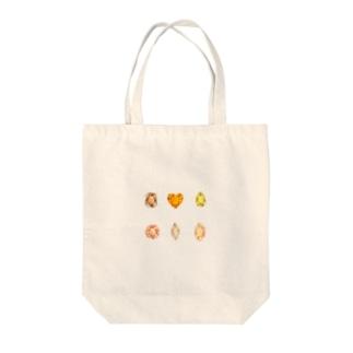 黄色とオレンジ色の宝石 Tote Bag