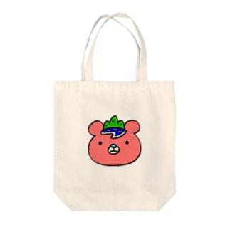 いまじゅくま(顔・ロゴなし) Tote bags