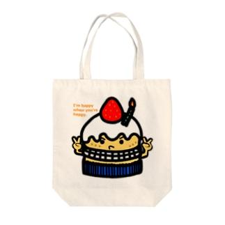 プレゼントケーキ トートバッグ
