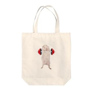 パワーモルモット(おもちくん) Tote Bag