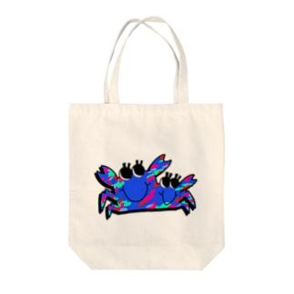 クラムボン(青) Tote bags