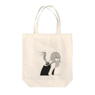 Sora-tobi Tote bags