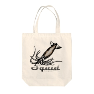 squid(イカ) Tote bags