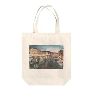 ベネチアの夜 Tote bags