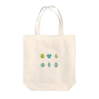 緑色の宝石 Tote Bag